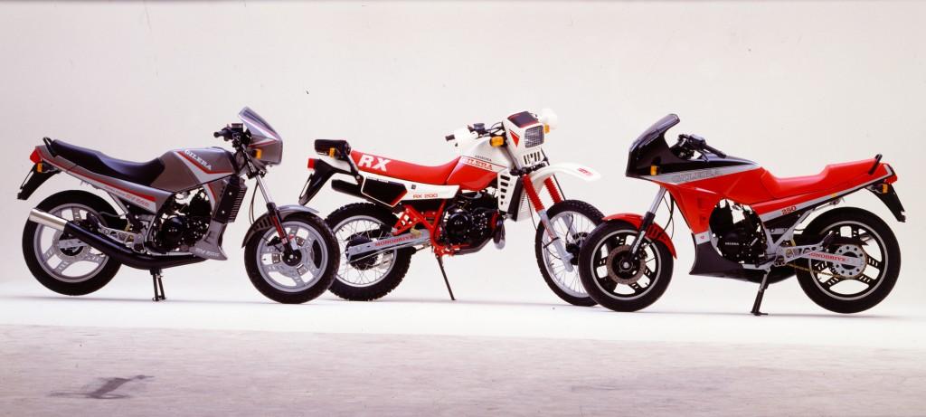 Da sx a dx: RV 200 RX 200, RV 250 NGR - ARCHIVIO STORICO PIAGGIO, PONTEDERA