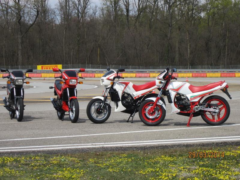 Le nostre Rv a Vizzola Ticino 30 anni dopo la prova di Motociclismo