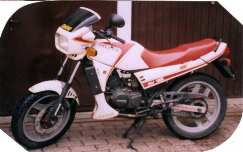 La RV 125 di Tomas prima della trasformazione
