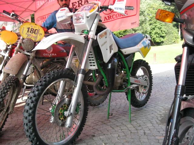 Una moto unica: il prototipo della Frigerio-Gilera 125 da enduro di proprietà dell'ing. Ciancamerla, il papà della SP01